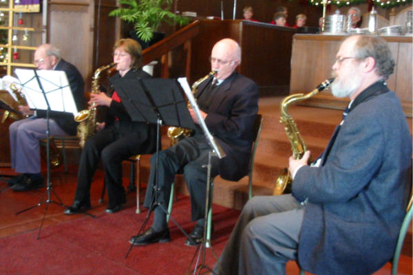 The West Island Saxophone Quartet