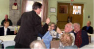 Jan 2007 Community Luncheon with Blair Marshall, Magician