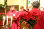 Candle light service 2010