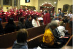 Candle light service 2011